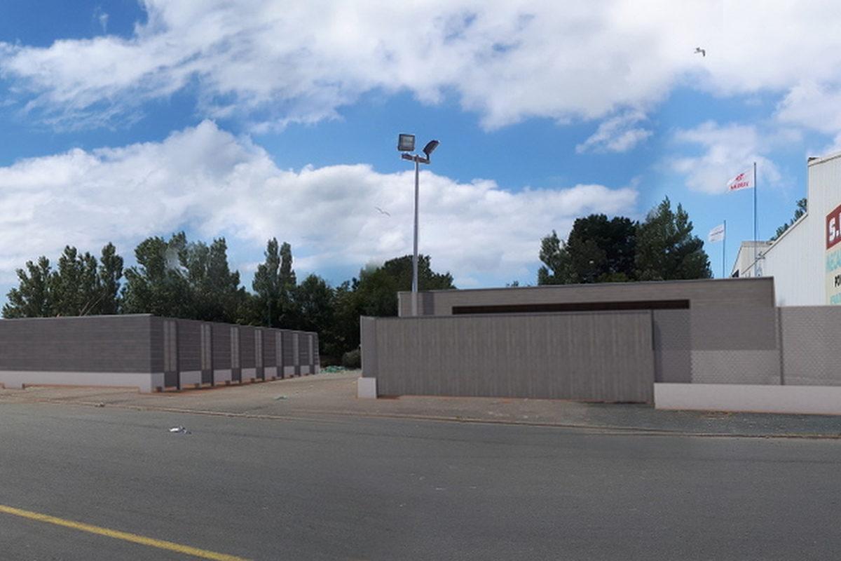 Box de stockage et déchetterie - Porte de loctudy - Mélanie OUCHEM