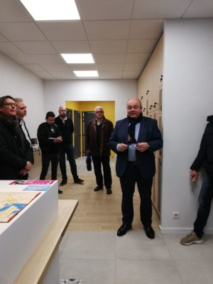 Réception de chantier Conciergerie mairie Quimper mélange Ouchem Architecte