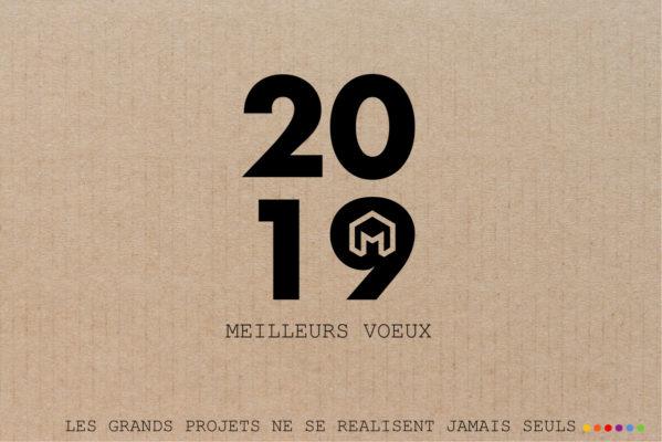 Voeux 2019 - Mélanie OUCHEM architecte